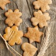Homemade sugar cookies — Stock Photo