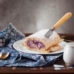 strudel de queijo cottage — Foto Stock