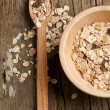 Dry muesli - Stock Photo