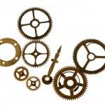 Old clockwork mechanism — Stock Photo