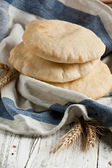 Pita bread with ears — Stock Photo