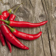 Red hot chili peppers — Stock Photo #20091033