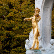 Stock Photo: Golden Johann Strauss