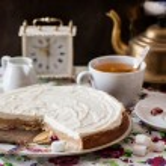 torta de queijo cottage — Foto Stock