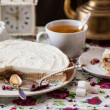 Stockfoto: Cottage cheese tart
