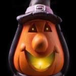 Halloween lantern isolated — Stock Photo