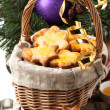 Christmas homemade cookies — Stock Photo #32138683