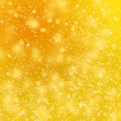 Christmas golden background — Stock Photo