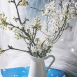 Blossoming cherry branches — Stock Photo #44336299