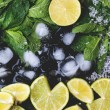 Ingredients for mojito — Stock Photo #45149143