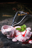 Strawberry ice cream — Stock Photo