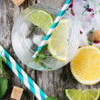 Glasses for lemonade — Stock Photo #47547669