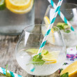 Glasses for lemonade — Stock Photo