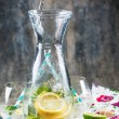 Pitcher of lemonade — Stock Photo