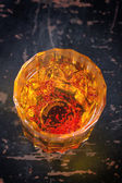 Saffron water — Stock Photo