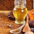 Honey and nuts — Stock Photo #50873437