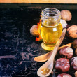 Honey and nuts — Stock Photo #50873491