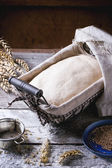 Baking bread — Stock Photo