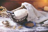 Brood bakken — Stockfoto