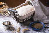 Brot backen — Stockfoto