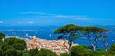 Mediterranean landscape — Stock Photo