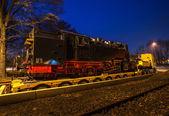 Nachtzug — Stockfoto