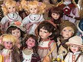 Girls toys — Stock Photo