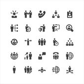 Business Icons Set — Vettoriale Stock