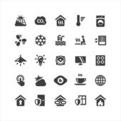 Smarthome Icons Set — Stock Vector