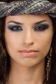 Portrait of beautiful young asian woman — Stock Photo
