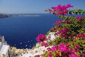 サントリーニ島での一日 — ストック写真