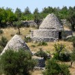 Trulli Huts of the Puglia region of Italy — Stock Photo