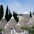 trulli homes in alberobello italy — Stock Photo