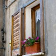 Italian window with shutter — Stock Photo #28129019