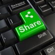 Share button — Stock Photo #19923355