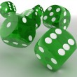 Dice. 3d - Stock Photo