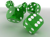 Dice. 3d — Stock Photo