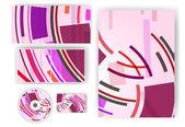Briefpapier-set für Ihr design — Stockvektor