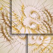 あなたの設計のための抽象的なバナー. — ストックベクタ