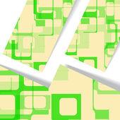 Abstract geometric shape illustration — Cтоковый вектор