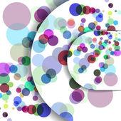 Abstract circles illustration. — Stock Vector