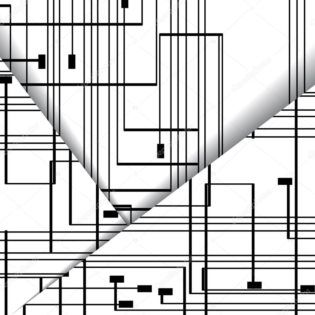 电路板图中,数字组成