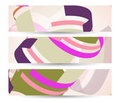 Abstract banner for your design, colorful digital Illustration. — Stock Vector