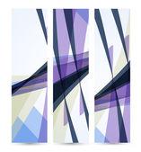 Abstrait bannière pour votre design, illustration numérique colorée. — Vecteur