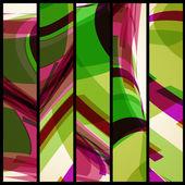 Abstrakt baner för din design. — Stockvektor
