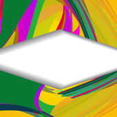 Ilustração abstrata retrô — Vetorial Stock