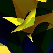 抽象的な暗い形の図 — ストックベクタ