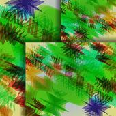 Kleurrijke zigzag achtergrond — Stockvector