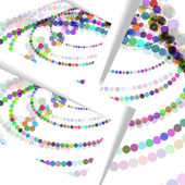 Abstract circles illustration — Stock Vector