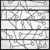 Bandera de circuito para su diseño — Vector de stock